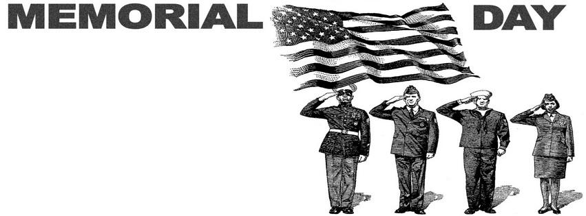 Memorial Facebook Cover Clipart.