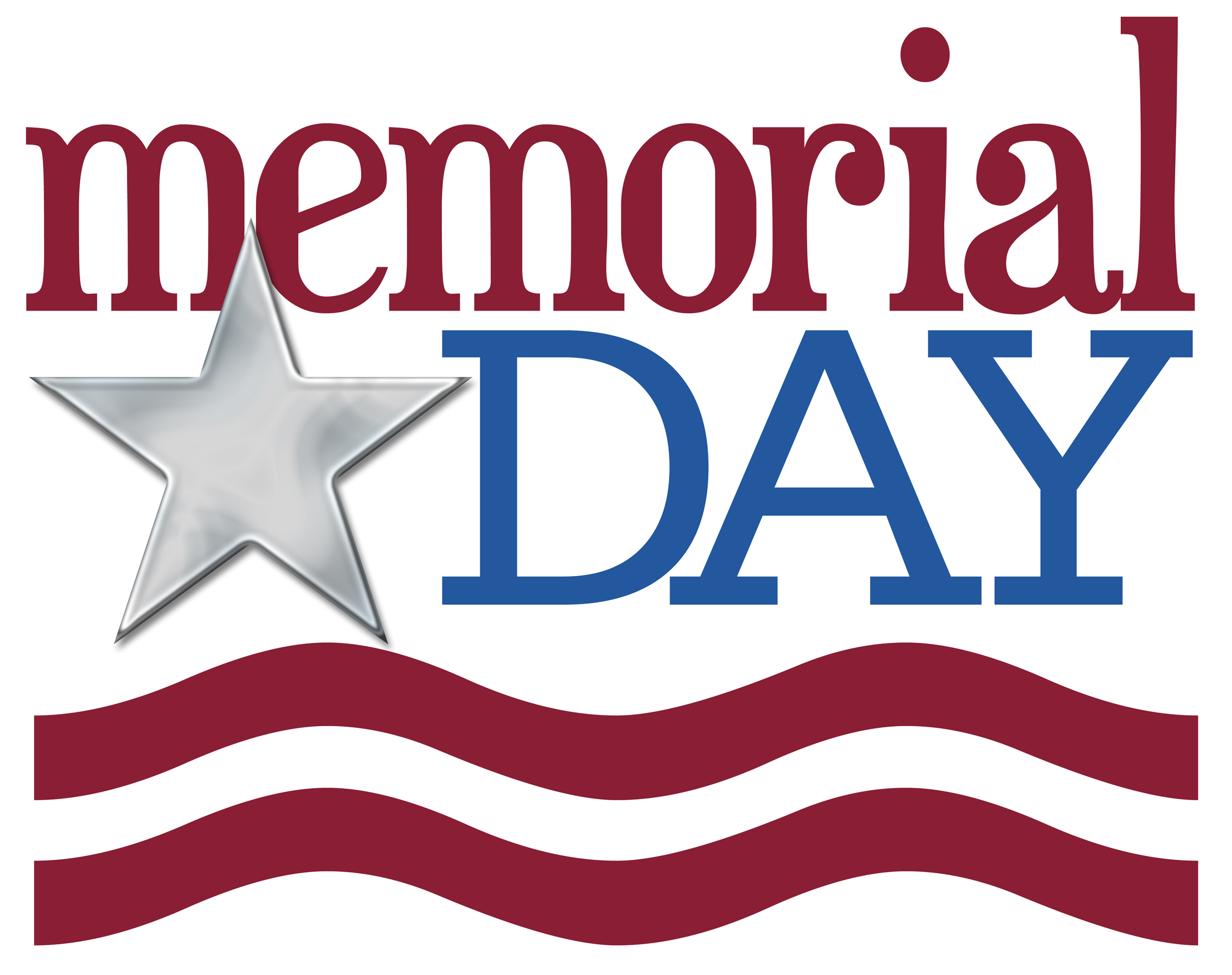 Image of May Day Clip Art Happy Memorial Day Clipart Free.