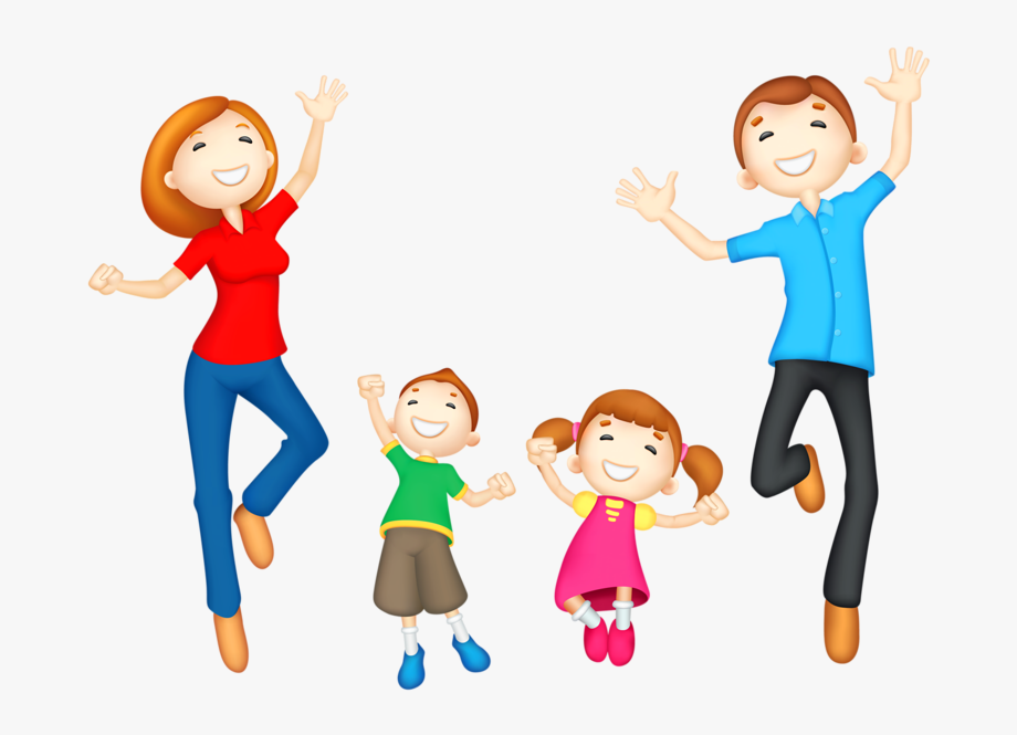 Happy Mom And Dad Clipart , Transparent Cartoon, Free.