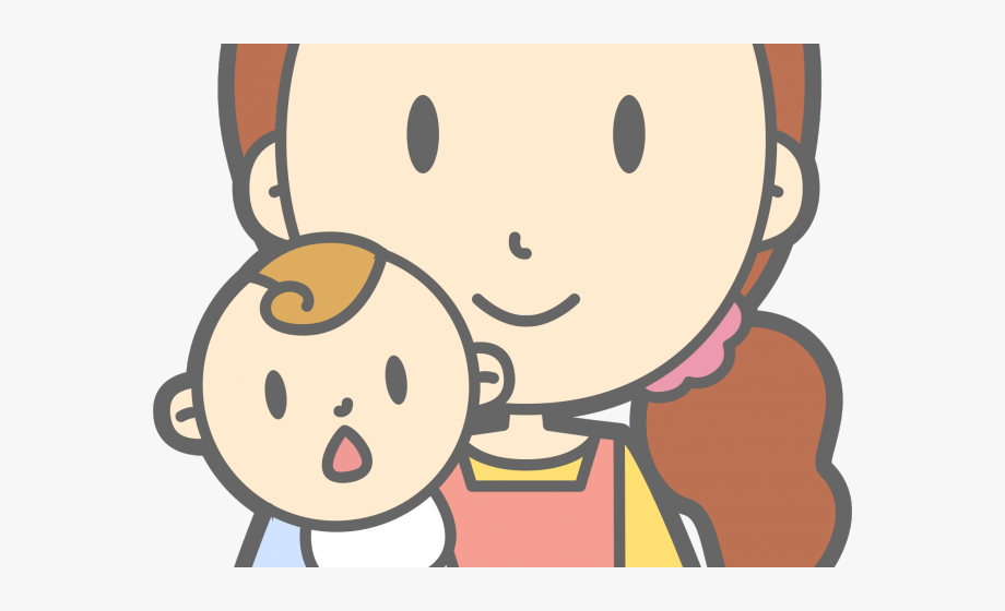 Mother And Baby Clipart Mom Baby.