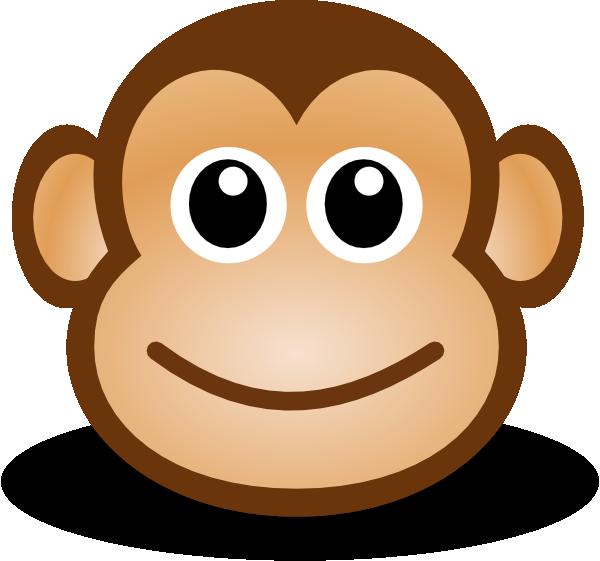 Happy Monkey Clipart.
