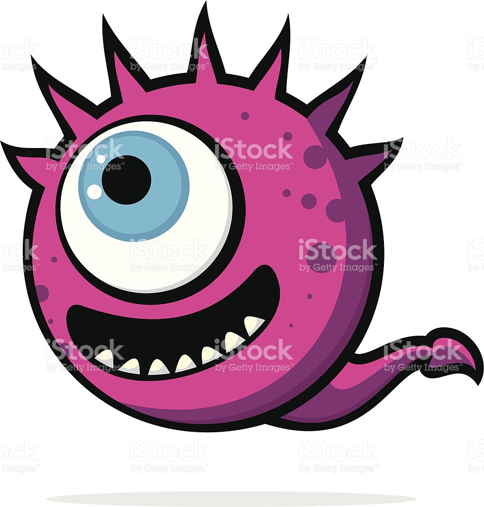 Happy Monster stock vector art 496035999.