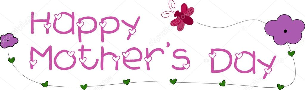 Happy Mother's Day banner — Stock Vector © Doodler #2615726.