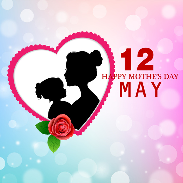 Mothers day clip art free vector download (210,713 Free vector.