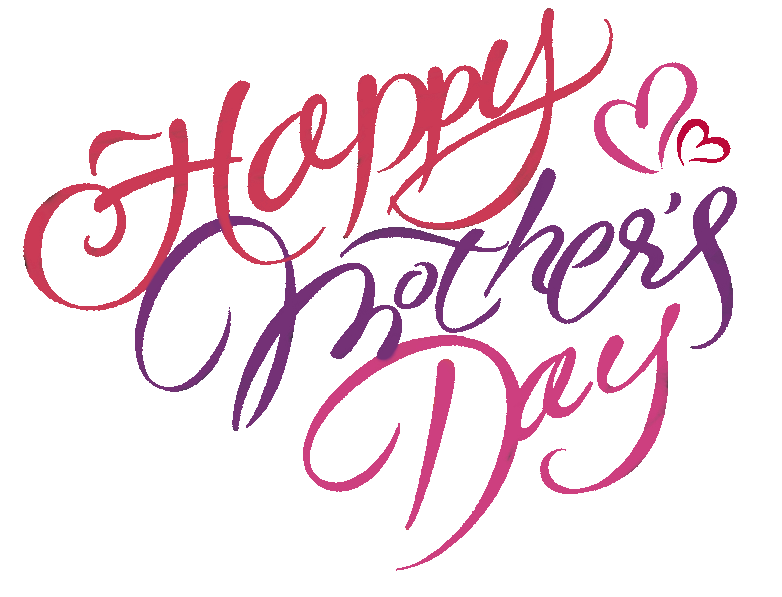 Mother's day comes part of happy mothers day bulletin border clipart.