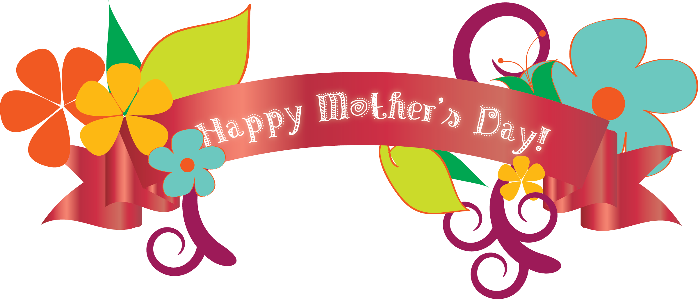 Happy Mothers Day Clipart.