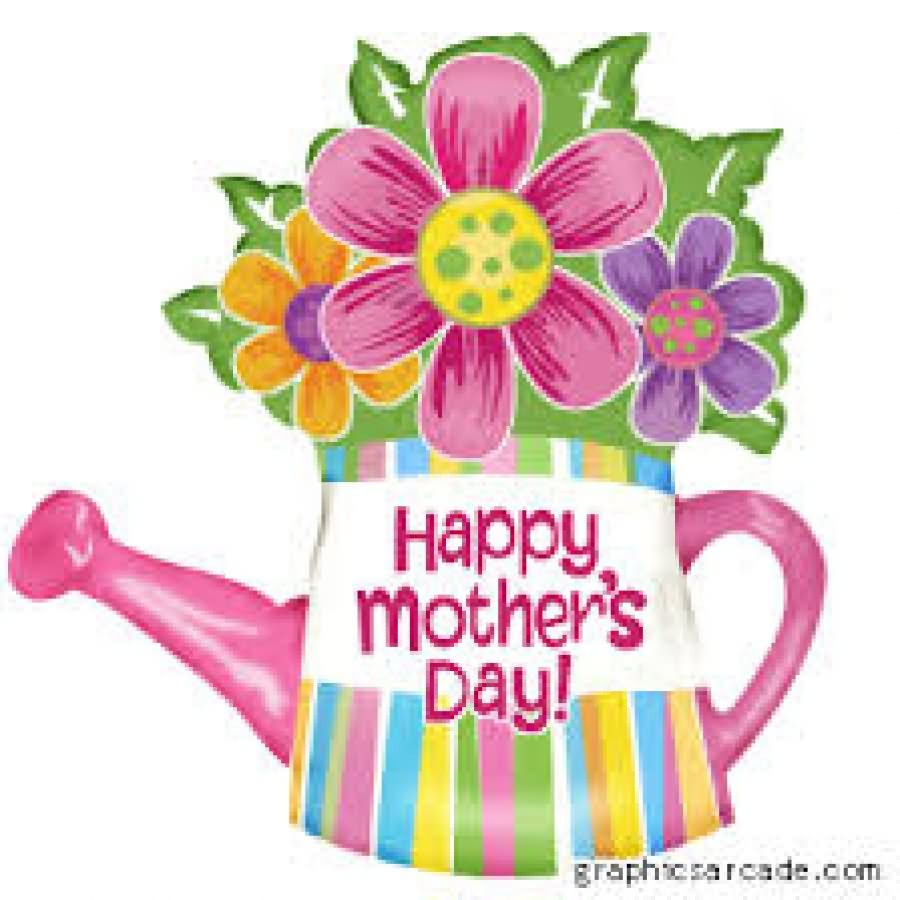 Happy mother day clipart.