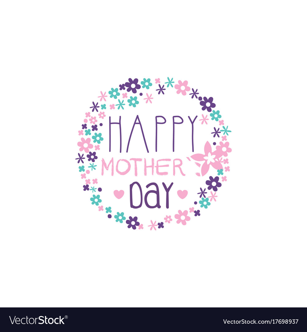 happy mothers day template.