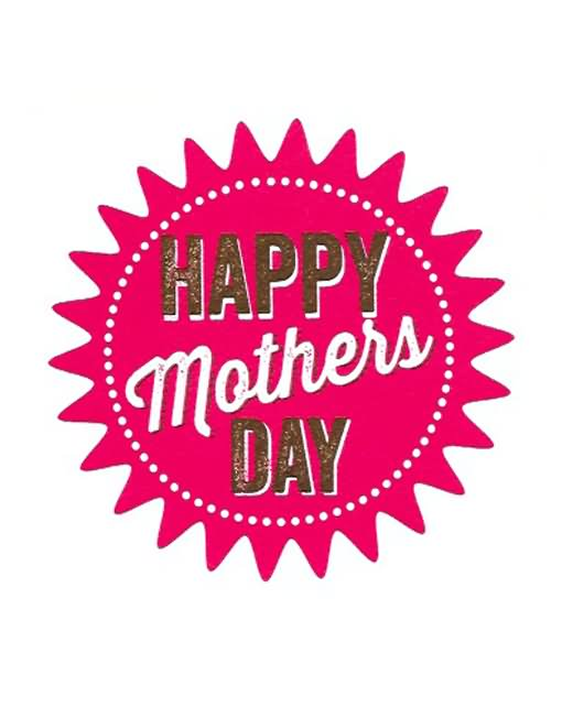 Happy Mother\'s Day Logo.