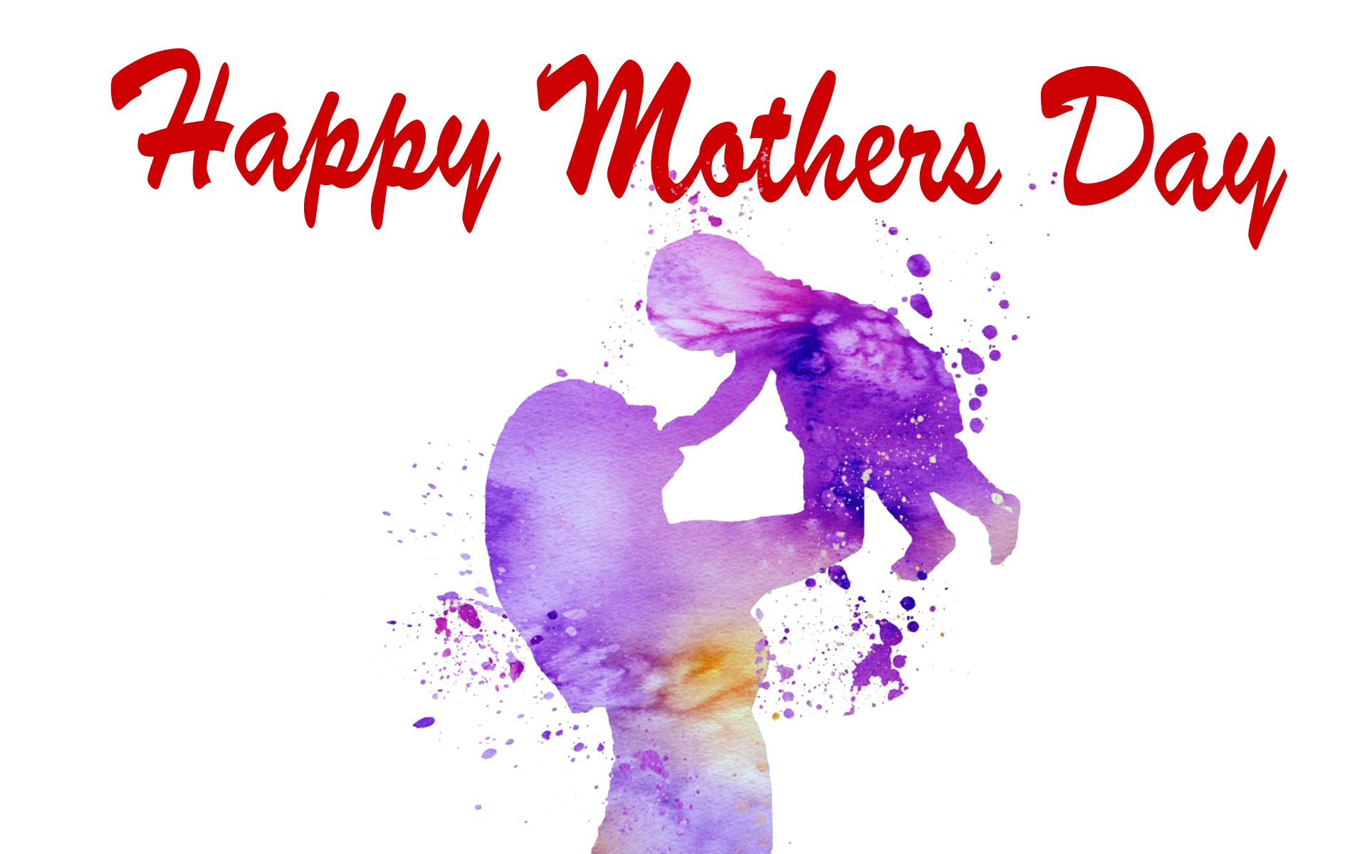 Happy Mothers Day PNG Photo.