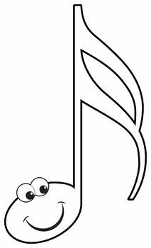 Music Notes: Happy Music Notes Clip Art Set.