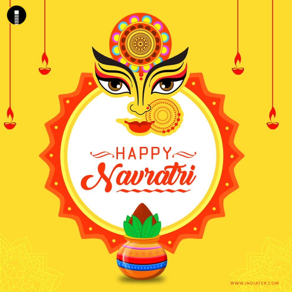 Happy Navratri Images For wishes Free Download.