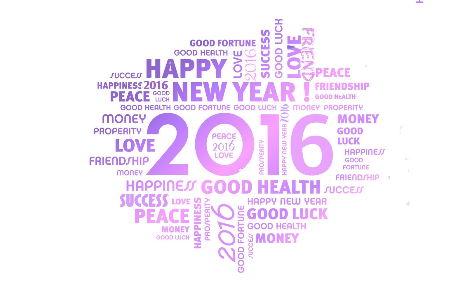 Happy new year card clipart.