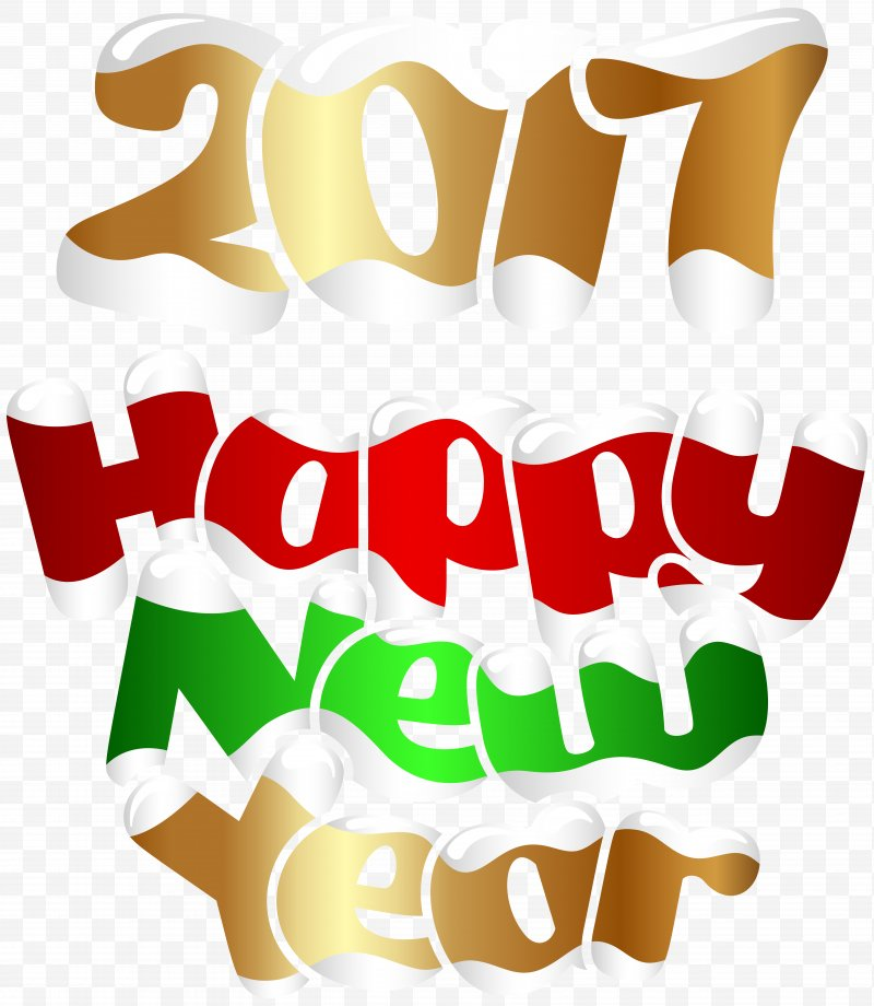 New Year's Day Christmas Day Clip Art, PNG, 6952x8000px, New Year.