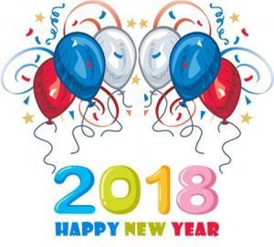 Happy New Year 2018 clipart images free clip art download.
