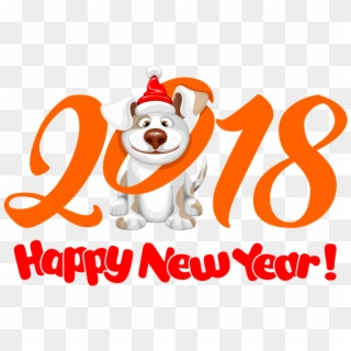 Happy New Year 2018 PNG Images, Free Transparent Image Download.