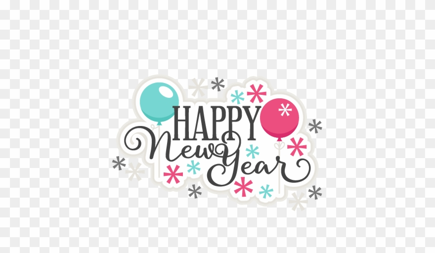 Free Happy New Year 2019 Clipart.