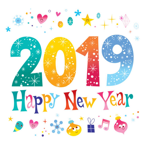 Top 20+ Happy New Year clip art (Clipart ) & Graphics 2020.