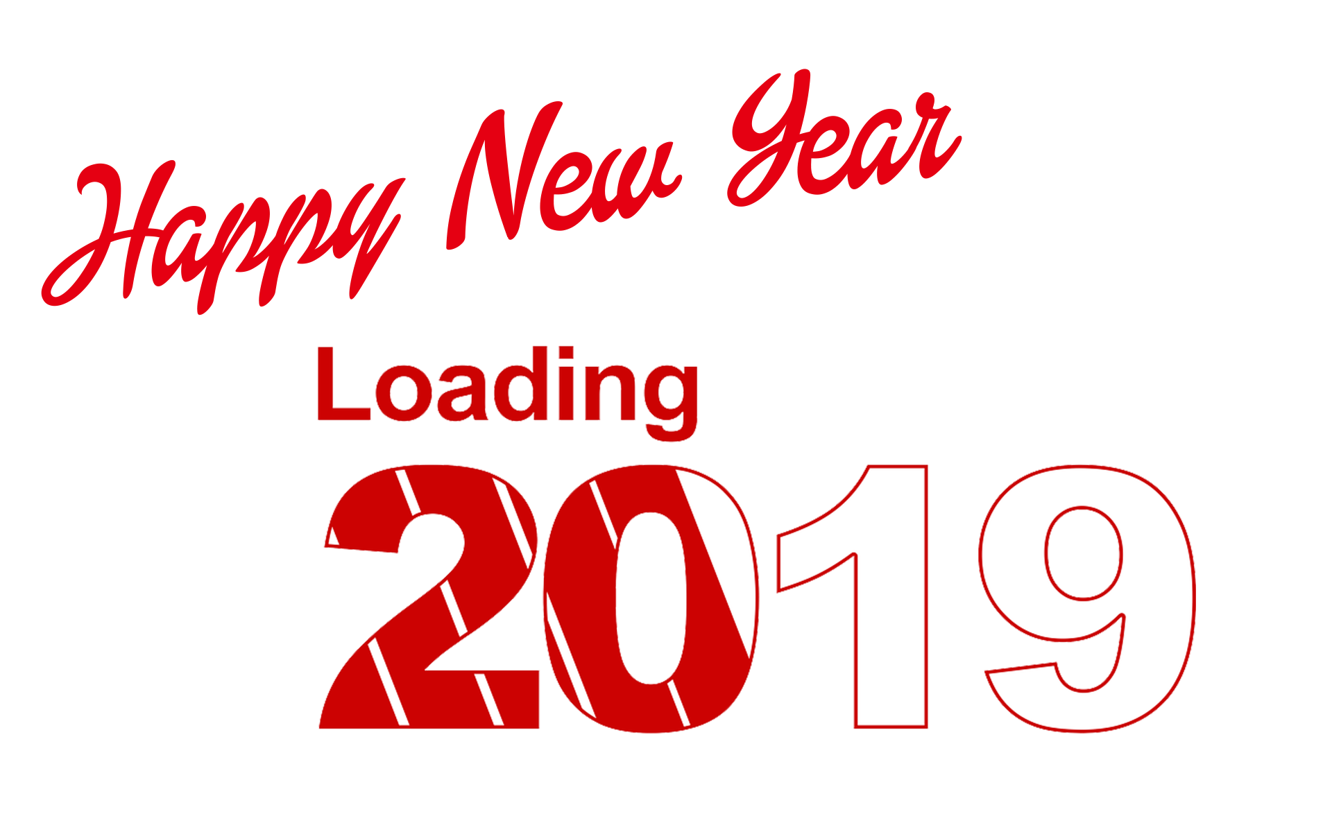 Happy New Year 2019 PNG Clipart.