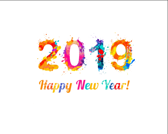 Download Free png 2019 Happy New Year PNG Image File.