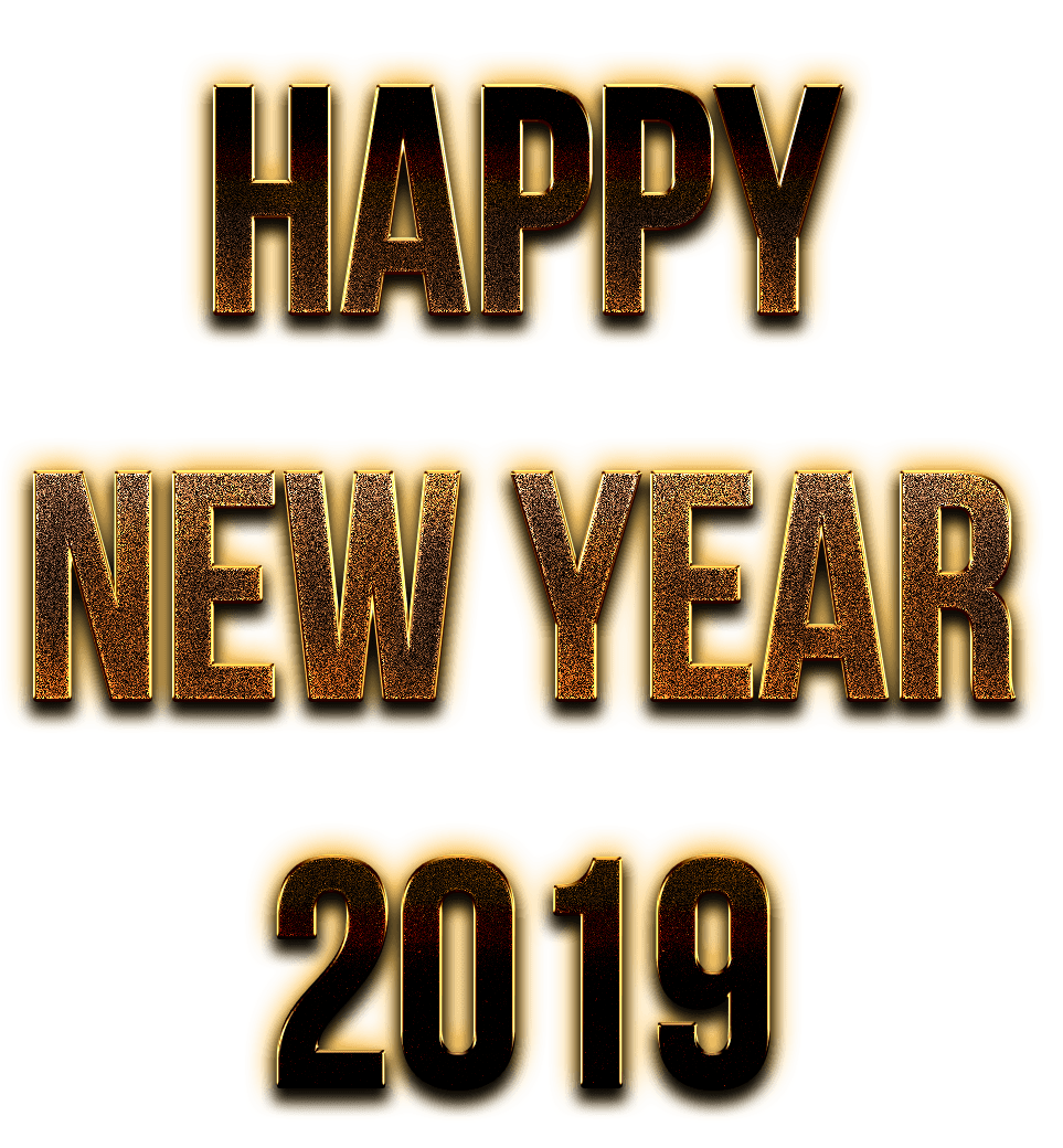 happy new year 2019 png text 10 free Cliparts | Download ...