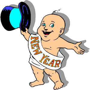 New Year Clipart Baby.