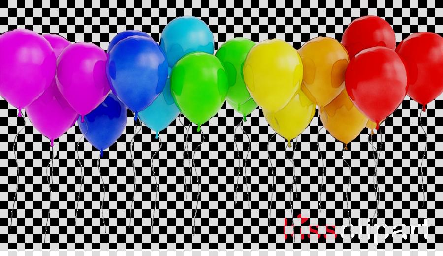 Happy New Year Balloon clipart.