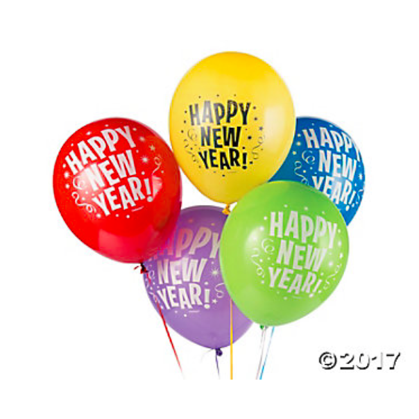 New Years Eve Balloons Party Supplies Canada.