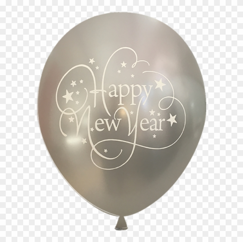 Balloons 12 Inch Happy New Year 15 Pack Metallic Colors, HD Png.