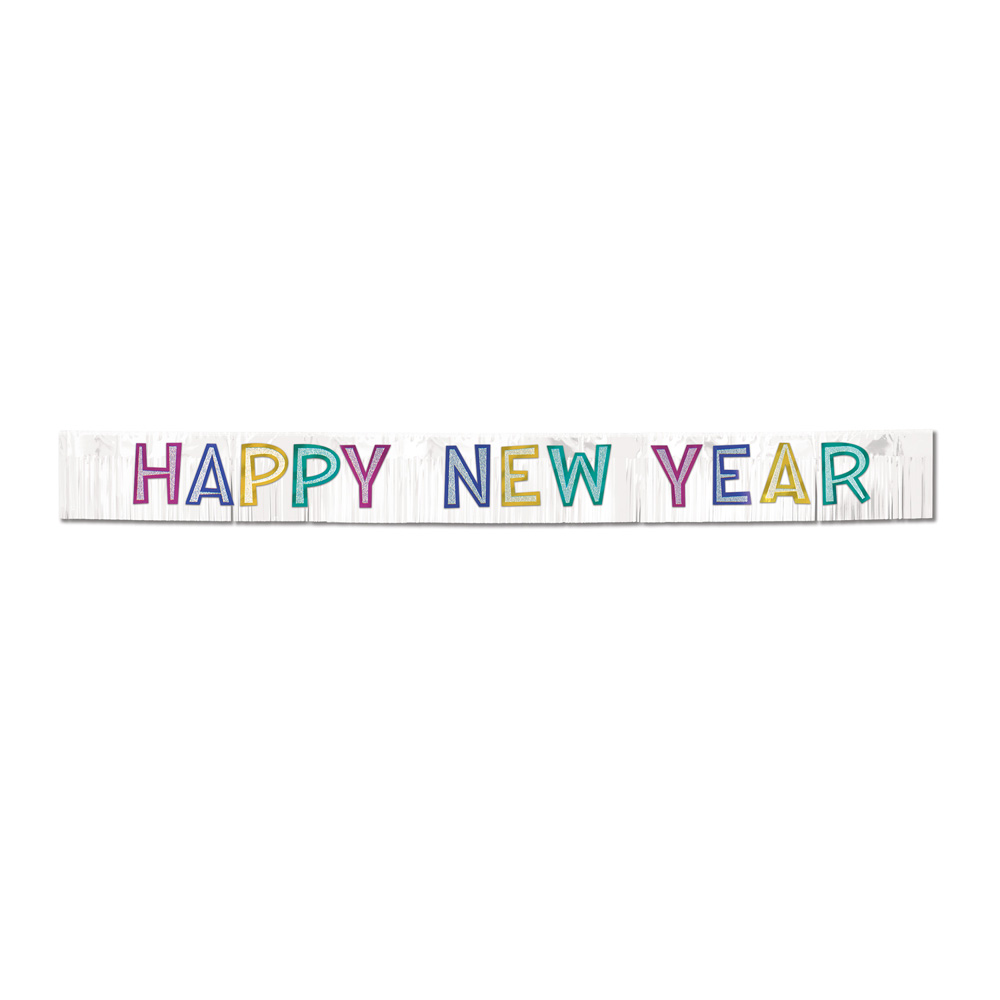 Clipart PNG Happy New Year Banner #34647.