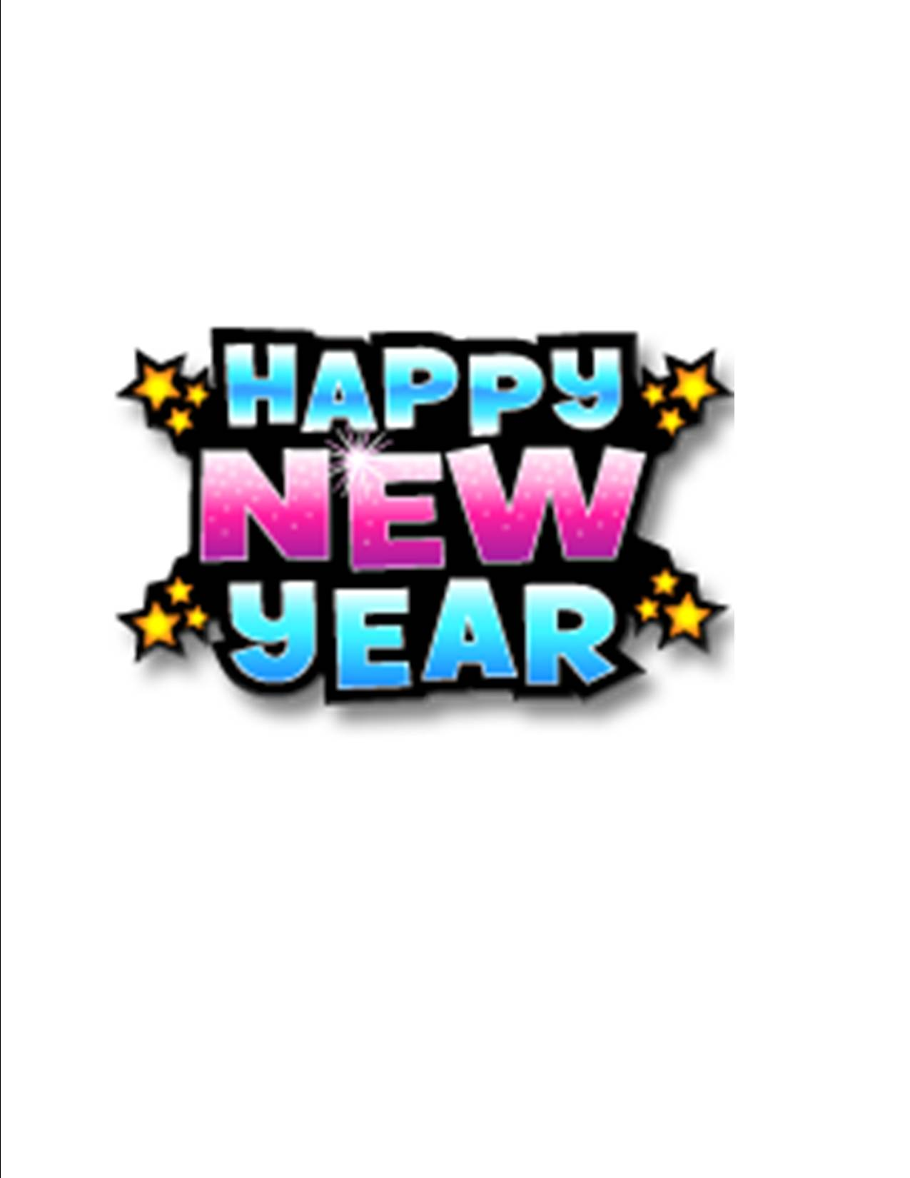 New Year Christian Clipart.