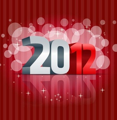 Free 2012 Happy New Years Clipart and Vector Graphics.