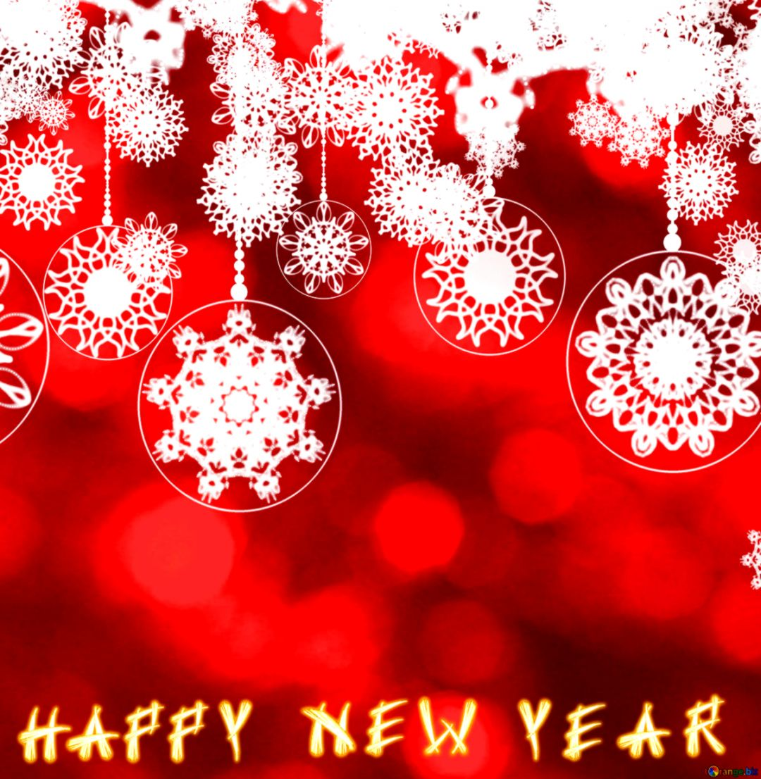Happy New Year Clipart Desktop Wallpaper.