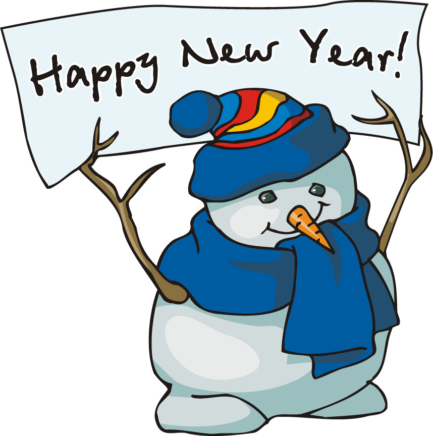 Happy new year clipart free 2 » Clipart Station.