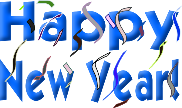 Happy New Year Clip Art Free.