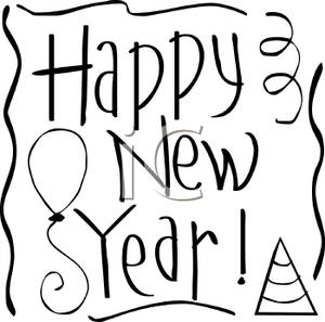 Similiar New Year Christian Clip Art Black And White Keywords.
