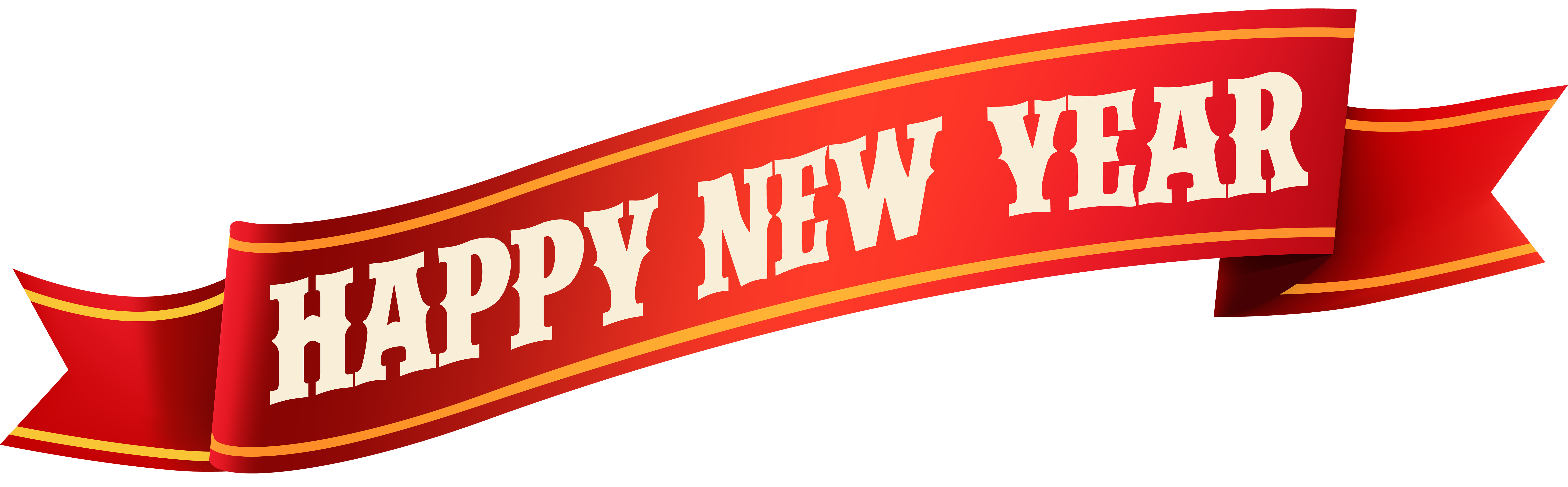 Happy New Year PNG Clip Art.
