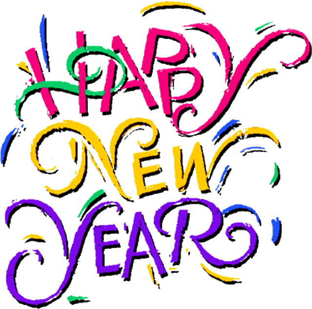 Transparent New Year Backgrounds.