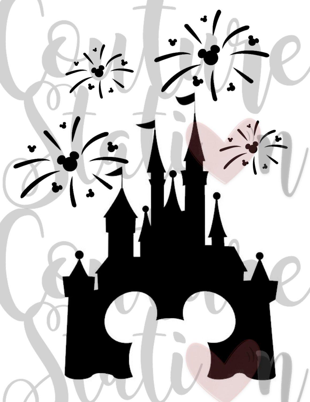 Disney Fireworks Iron.