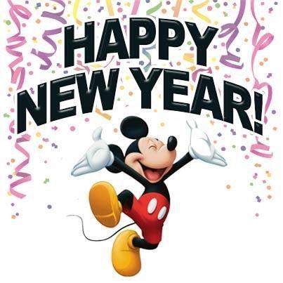 Disney New Year Clipart.