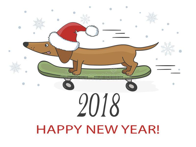 Dachshund Dog Stock Illustrations.