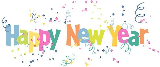 Happy New Year clip art from the PTO Today Clip Art Gallery.