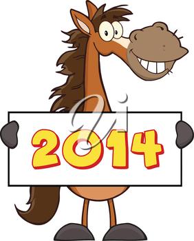 Happy new year horse clipart 7 » Clipart Portal.