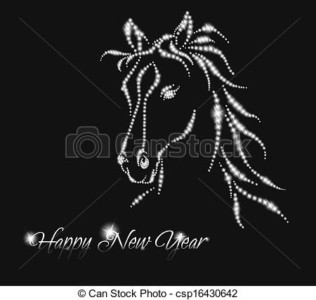 New year horse 2014..