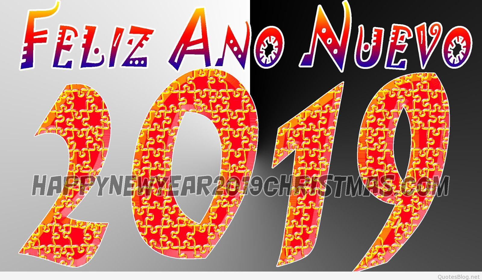 Happy New Year in Spanish Images. Feliz Año Nuevo Imagenes..