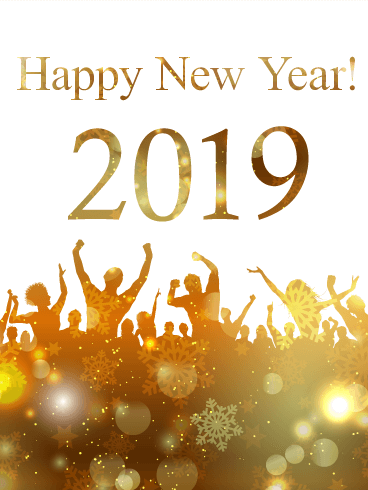 Glowing, Peoples Celebrate 2019 Happy New Year Photo #47303.