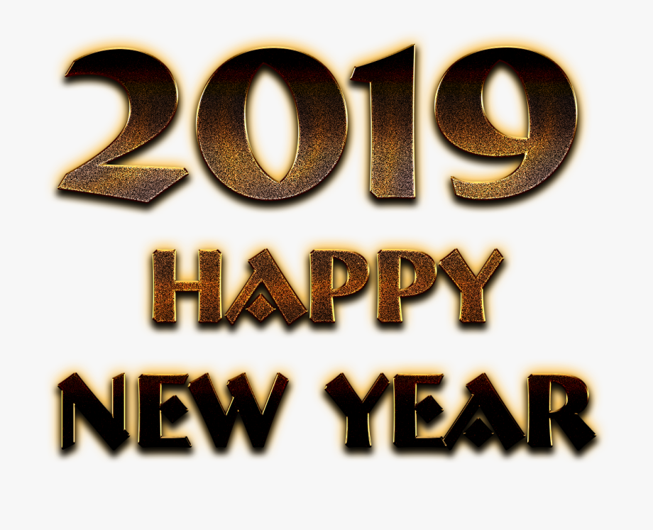 2019 Happy New Year Png Pic.