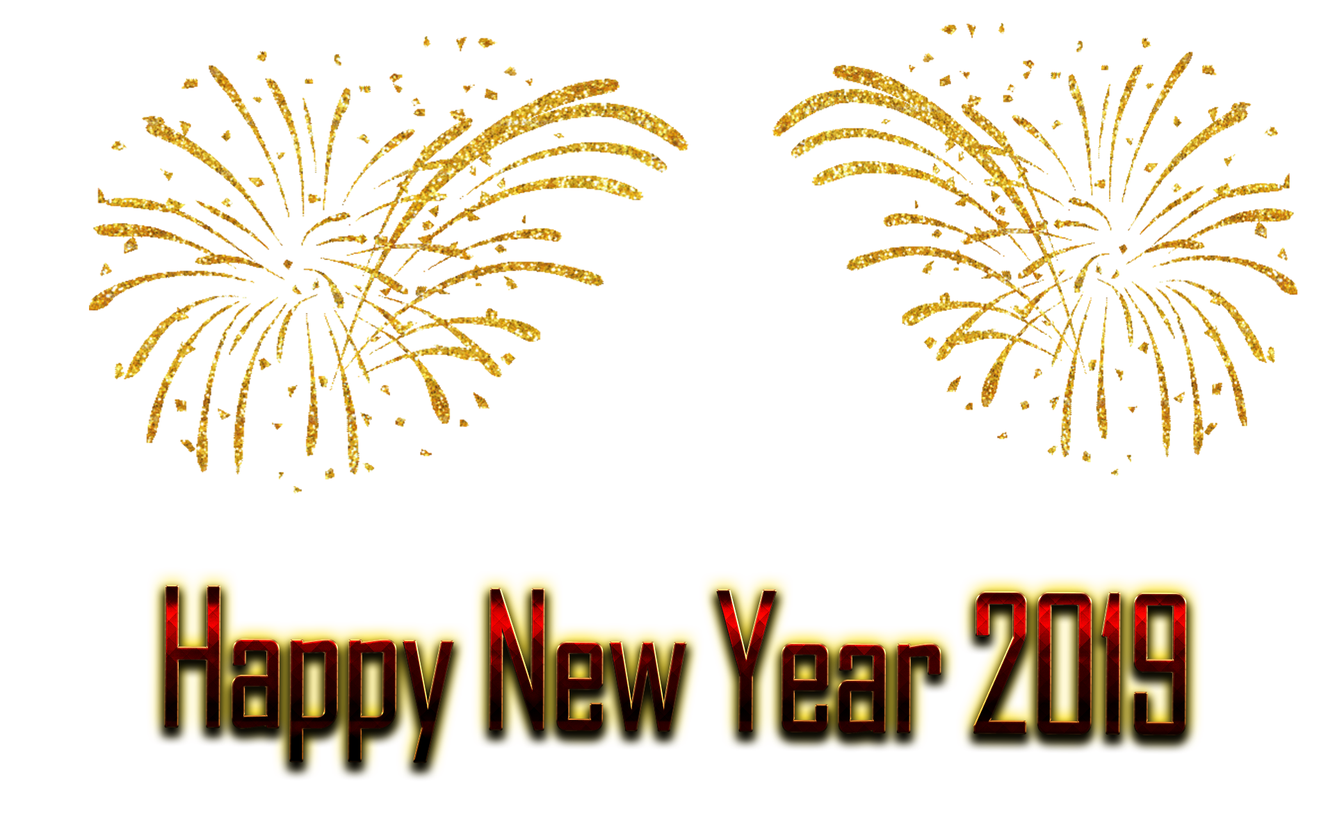 New Year PNG Free Image Download.