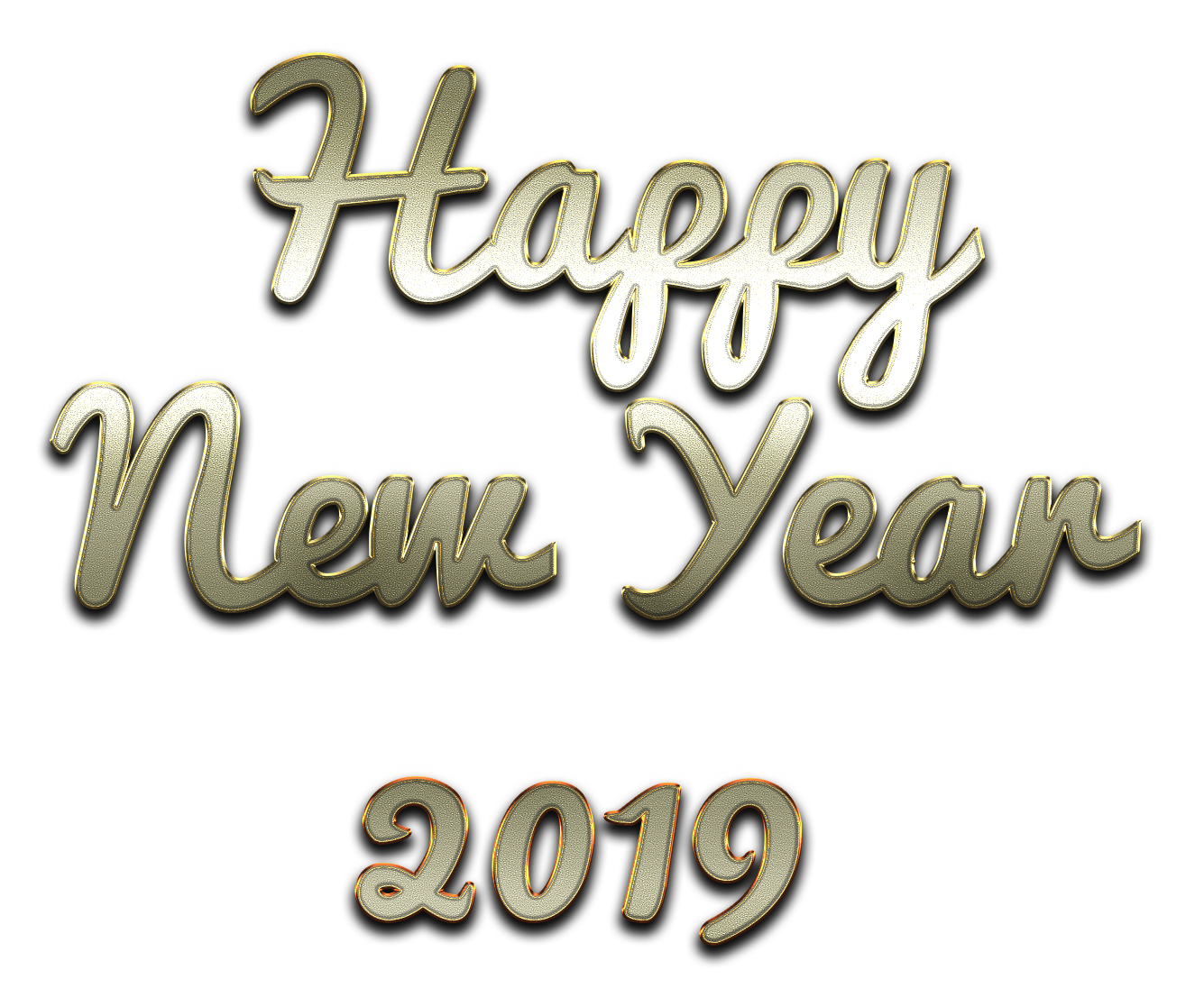Download Free png Happy New Year 2019 PNG Images with Transparent.