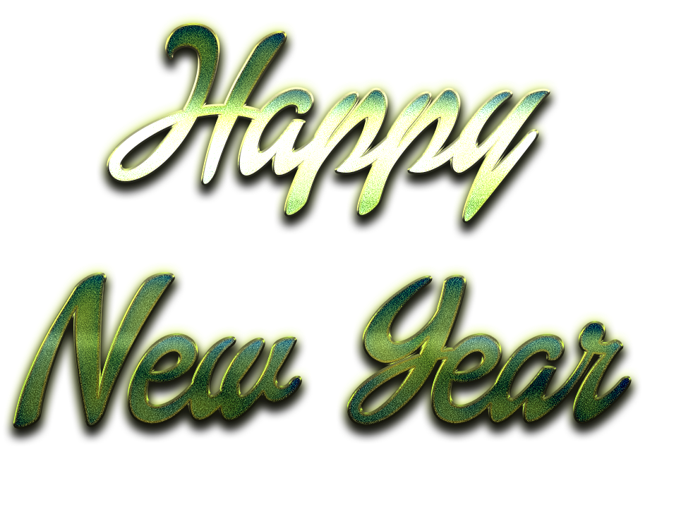 Happy New Year PNG Images Transparent Free Download.
